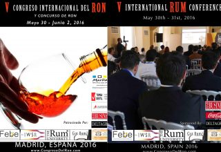 Madrid will be hosting the 5th International Rum Conference that will take place on May 30th and 31st
